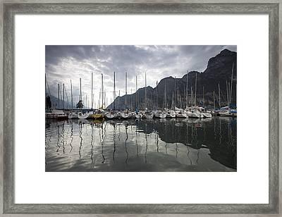 Lago Di Garda Framed Print by Andre Goncalves