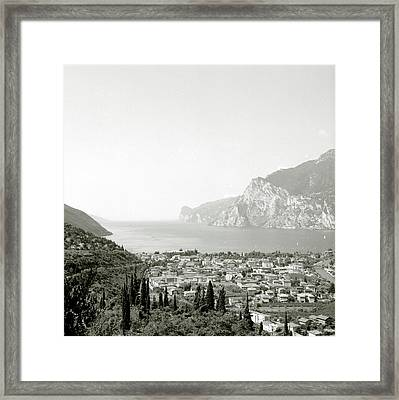 Lago Di Garda Framed Print by Esther Czech