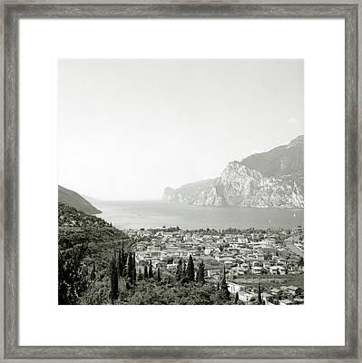 Lago Di Garda Framed Print