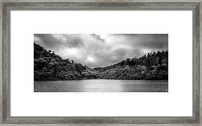 Lagoa-pico Do Itapeva-pindamonhangaba-sp Framed Print