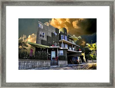 Lagoon House Framed Print by Bob Winberry