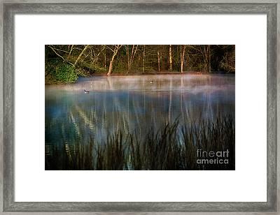 Lagoon Sunrise Framed Print