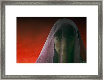 Lagrimas Negras Framed Print by Romina Messina