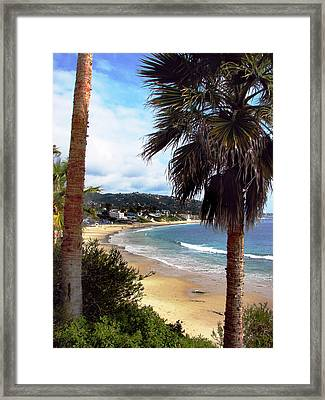 Framed Print featuring the photograph Laguna Beach 2 by Joanne Coyle