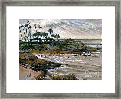 Laguna Beach 91 Framed Print by Donald Maier