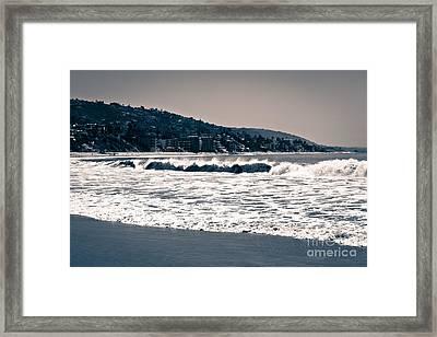 Laguna Beach California Photo Framed Print