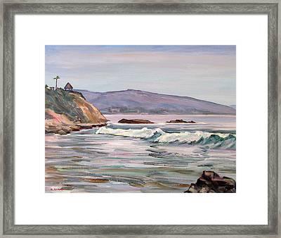 Laguna Beach Mood Framed Print by Robert Gerdes