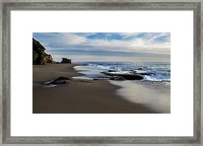 Laguna Beach Framed Print by Tammy Gann