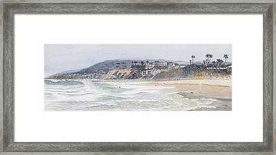 Laguna Beach Framed Print by Tom Dorsz