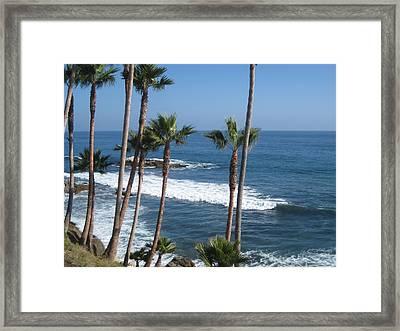 Laguna Beautiful Framed Print by Renee Antos