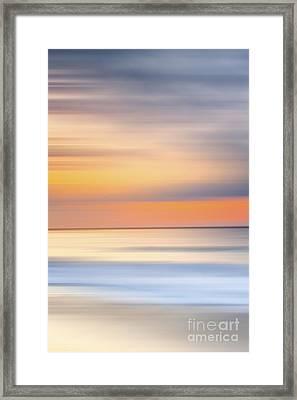 Laguna Hues - 1 Of 3 Framed Print by Sean Davey