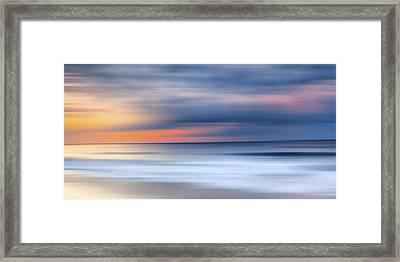 Laguna Hues Framed Print