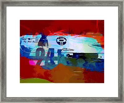 Laguna Seca Racing Cars 1 Framed Print by Naxart Studio