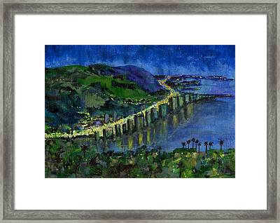 Rio Framed Print by Randy Sprout