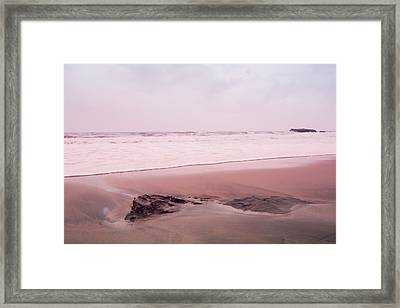 Laguna Shores Memories Framed Print by Heidi Hermes
