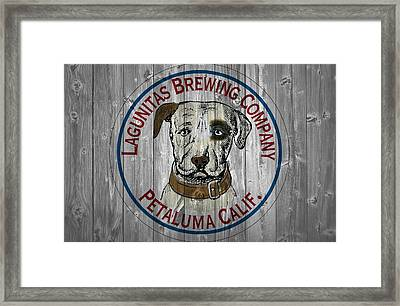 Lagunitas Brewing Company Barn Door Framed Print by Dan Sproul