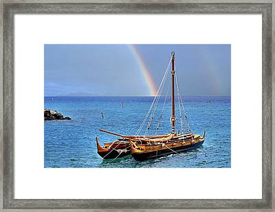 Lahaina Harbor Framed Print