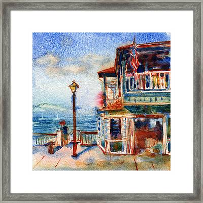 Lahaina Hawaii Framed Print by Yevgenia Watts