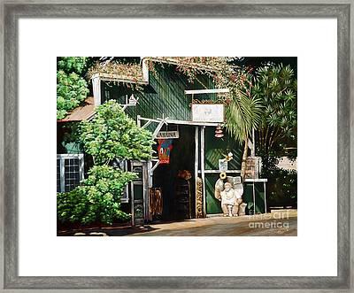 Lahaina Hoolealea Framed Print by Sandra Blazel - Printscapes
