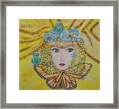 Laidy Gaga Number One Framed Print