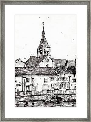 Laignes France Framed Print by Vincent Alexander Booth