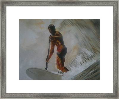 Laird Framed Print by Alix Barker