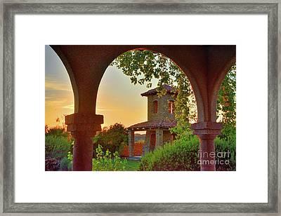 Lajitas Sunrise Framed Print
