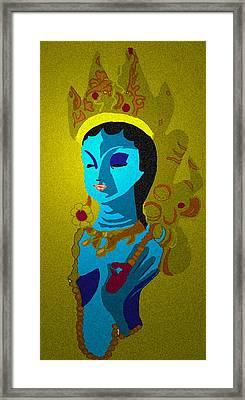 Lakashimi Gold Framed Print