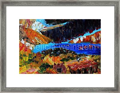 Lake 1 Framed Print