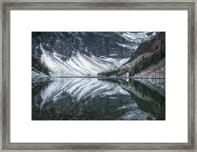 Lake Agnes No 1 Framed Print
