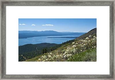 Lake Almanor Framed Print