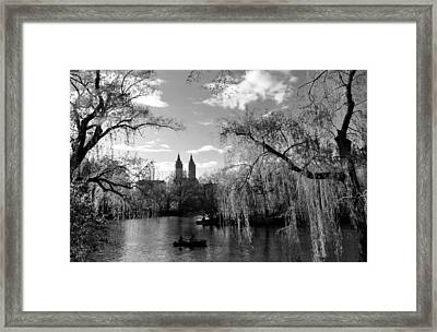 Lake Framed Print by Andrew Dinh
