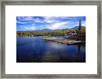 Lake Arrowhead California Framed Print