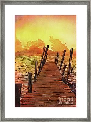 Lake Atitlan- Guatemala Framed Print by Ryan Fox