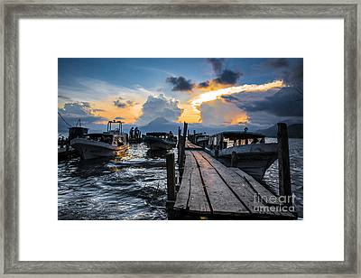 Lake Atitlan Framed Print by Yuri Santin