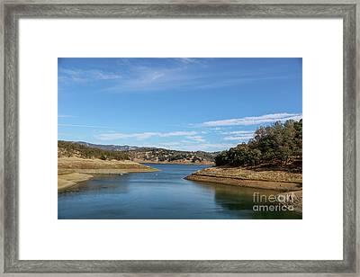 Lake Berryessa Framed Print by M Croz