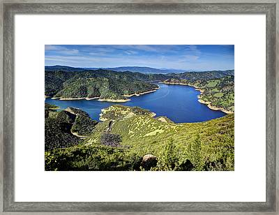Lake Berryessa Framed Print by Mark Ruanto