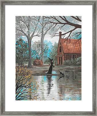 Lake Bewitched Framed Print