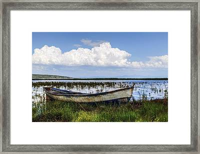 Lake Beysehir - Turkey Framed Print