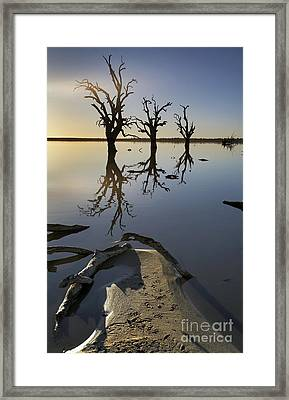 Lake Bonney Barmera Riverland South Australia Framed Print