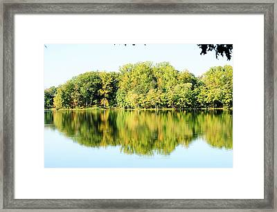 Lake Briddle Framed Print by Heidi Poulin
