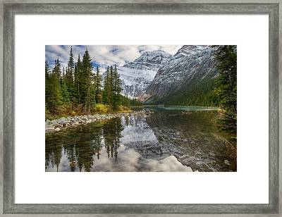 Framed Print featuring the photograph Lake Cavell by John Gilbert