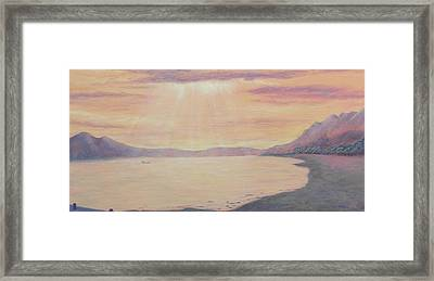 Lake Chapala Framed Print