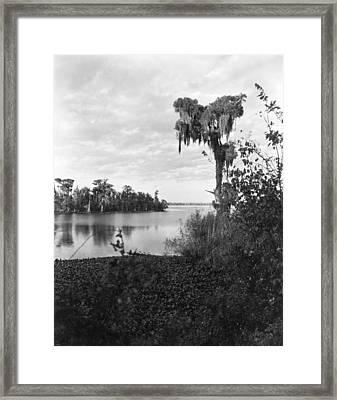 Lake Charles, Louisiana Framed Print