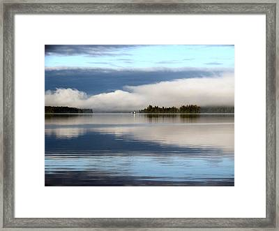 Lake Cobb'see Framed Print
