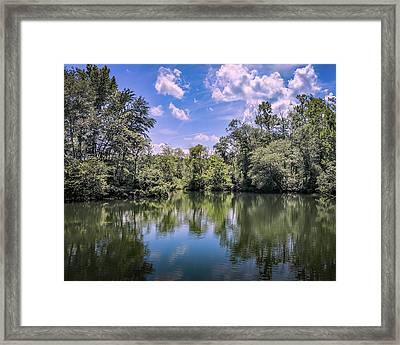 Lake Cove Framed Print
