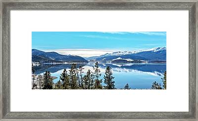Lake Dillon Colorado Framed Print