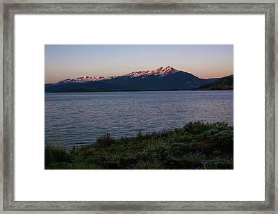 Lake Dillon Sunrise Framed Print