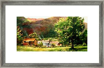 Lake District In May Framed Print