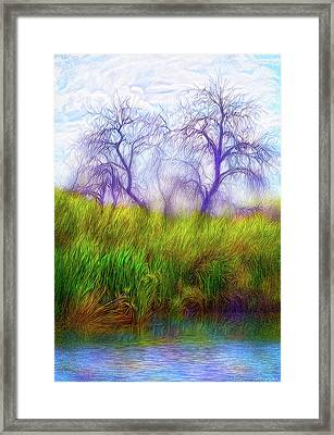 Lake Dream Peace Framed Print